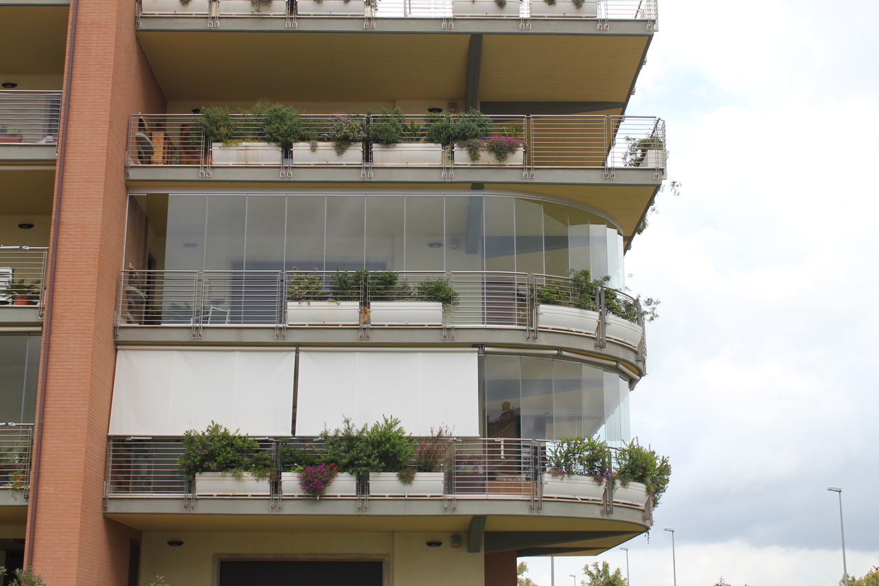 Vetrate per esterni e balconi ostia ambienti roma - Vetrate per esterni ...
