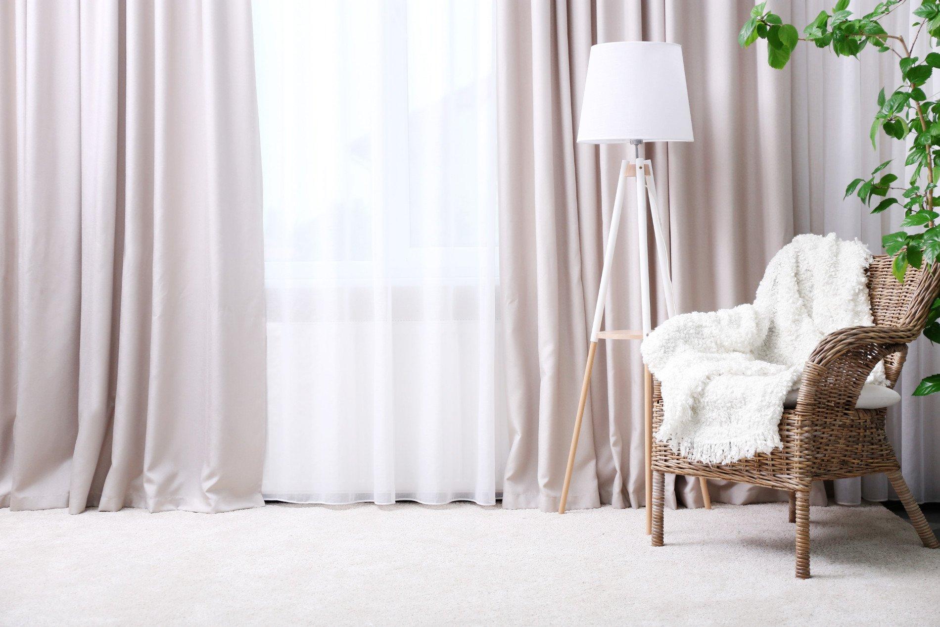 Tipi Di Tende Per Casa tende da interno: bastoni o binari? | ambienti - arredamento